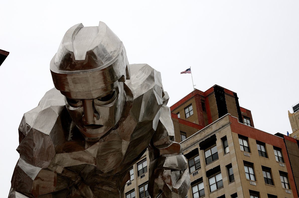 Photo of public art in Newark by Flickr user Bruce Faling https://www.flickr.com/photos/bfaling/