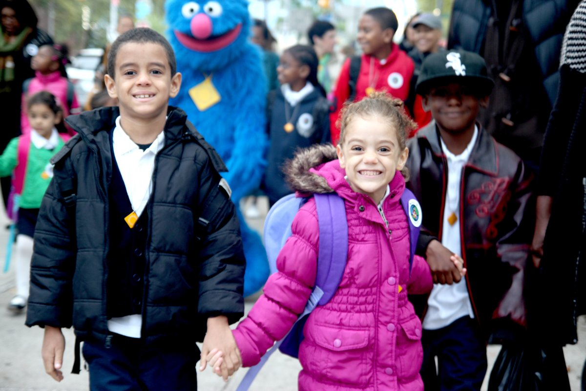 Title: International Walk to School Day 2011 | Author: New York City Department of Transportation | Source: nycstreets | License: CC BY-NC-ND 2.0