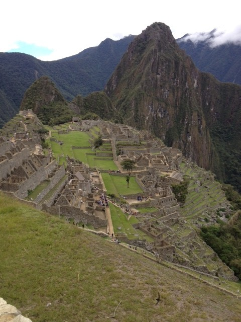 Photo of Machu Picchu by Rick Bellingham