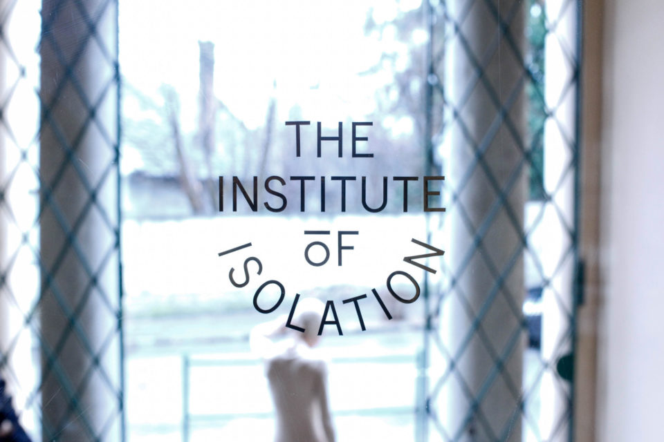 """Still from """"The Institute of Isolation,"""" Lucy McRae. Image courtesy of Ars Electronica's Flickr page. https://www.flickr.com/photos/arselectronica/"""