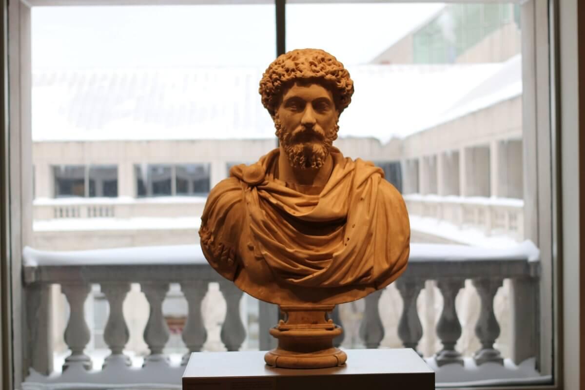 Portrait bust of Marcus Aurelius, Art Institute, Chicago | Author: Ryan Baumann | License: CC BY 2.0