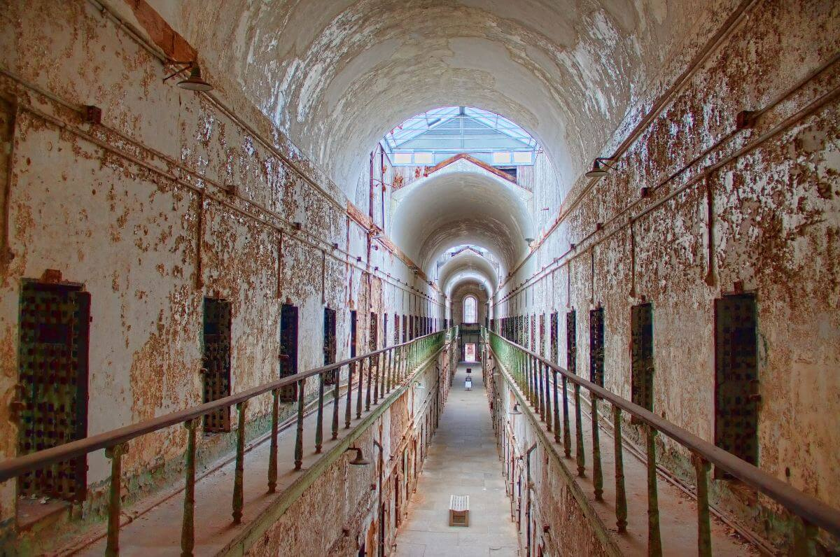 Eastern States Penitentiary, by Victoria Pickering