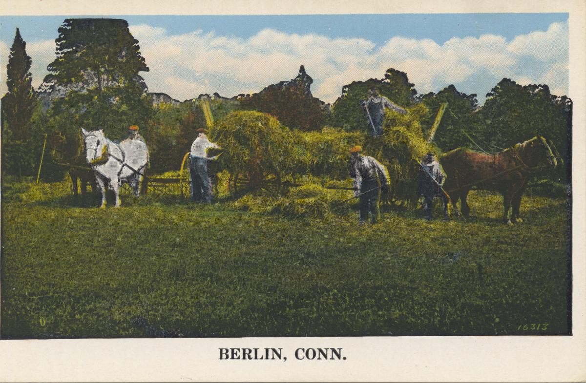 Postcard of Berlin, Connecticut | Source: Miami University Libraries - Digital Collections
