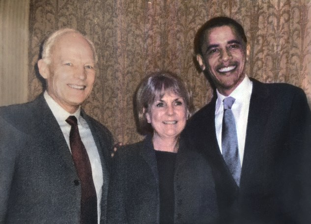 Meeting Barack Obama