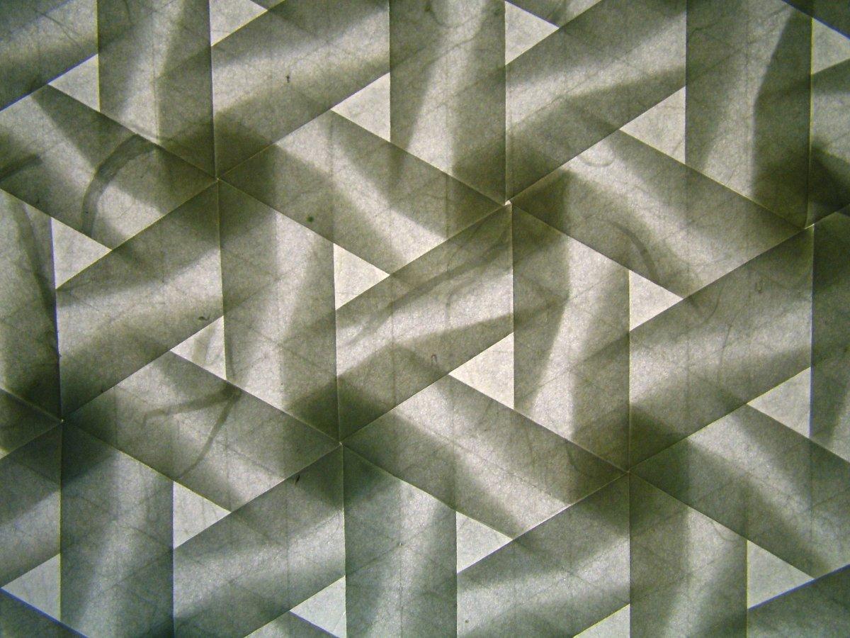 """Pinwheel tesselation, version 2, backlit,"" by Eric Gjerde"