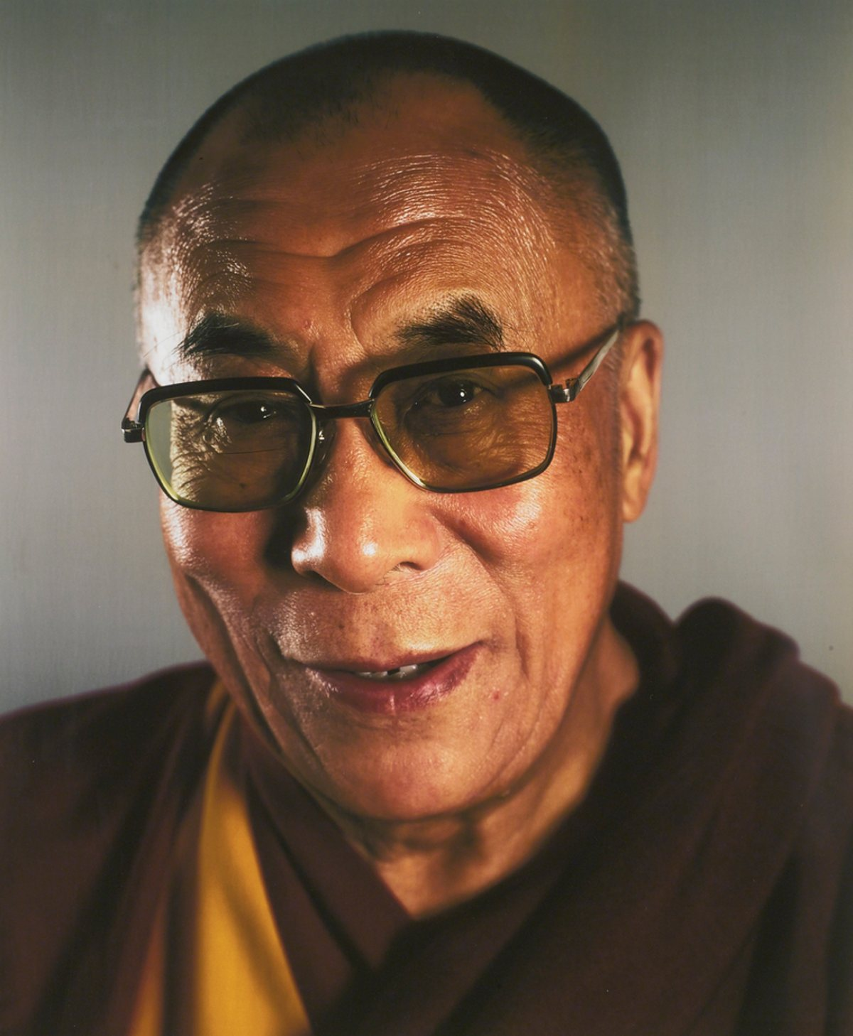 [ C ] Chuck Close - Dalai Lama (2005) | Credit: cea+