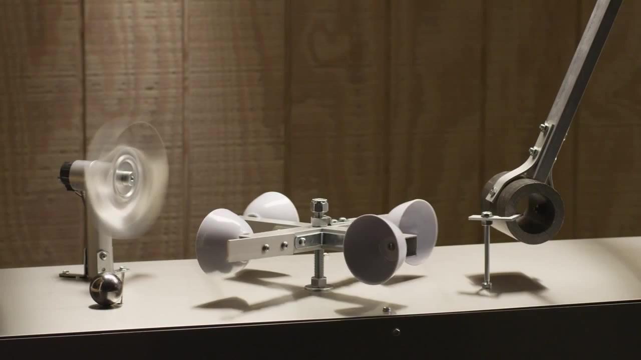 """Isaac Newton vs. Rube Goldberg"" http://www.2dhouse.com/rubegoldbergmachines.php"