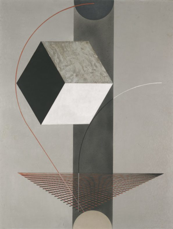 """Proun 99,"" El Lissitzky 