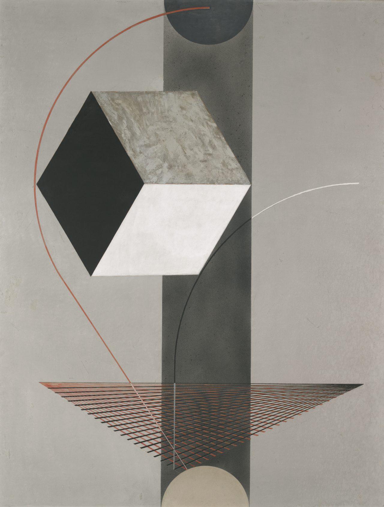 """Proun 99,"" El Lissitzky   Source: Yale University Art Gallery"