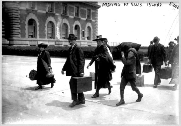 Arriving at Ellis Island | Source: U.S. Library of Congress | License: No known copyright restrictions