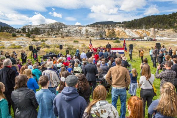 Title: Naturalization Ceremony September 7, 2016 | Author: NPS/Neal Herbert | Source: yellowstoneps on Flickr | License: CC0