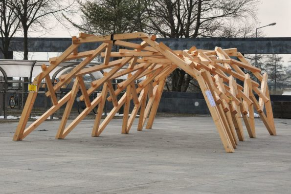 """Title: """"Reciprocal frame stucture"""" 