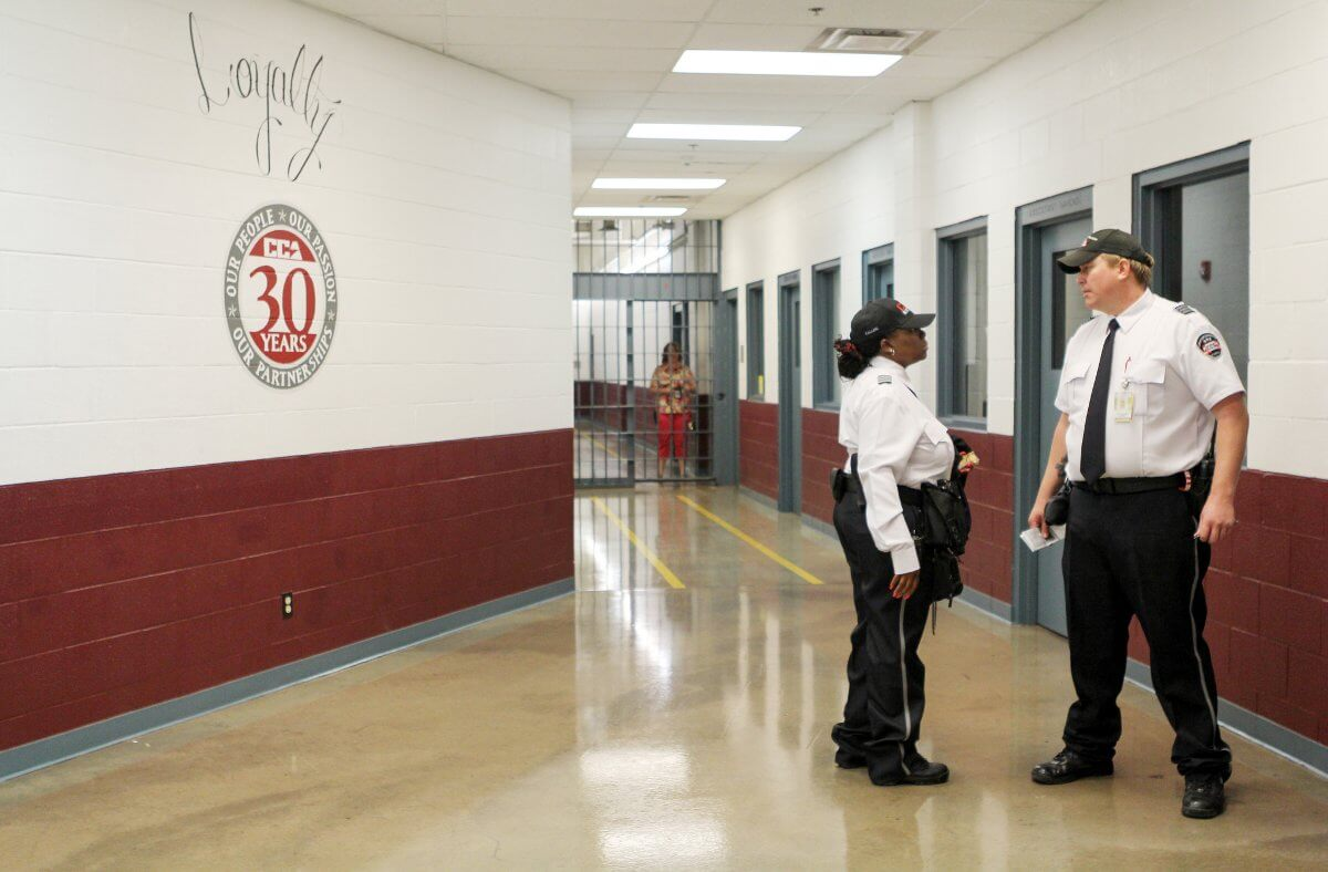 Title: Correctional Officers | Author: Inside CCA | Source: insidecca on Flickr | License: CC BY-ND 2.0