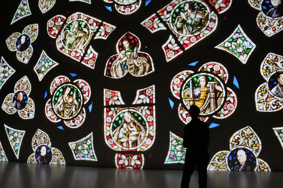 Title: Window of St. Mary's Cathedral in linz | Author: Magdalena Sick-Leitner | Source: Ars Electronica | License: CC BY-NC-ND 2.0