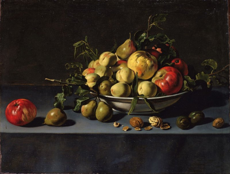 """Fruit Still Life,"" (17th century), Adriaen van Utrecht (License: CC0)"