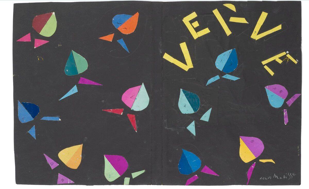 Title: [ M ] Henri Matisse - Verve, II (cover maquette, Symphonie chromatique) (1939) | Author: cea + | Source: Flickr | License: CC BY 2.0
