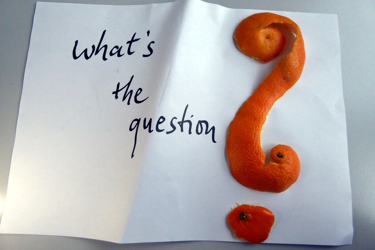 """what's the answer"" 