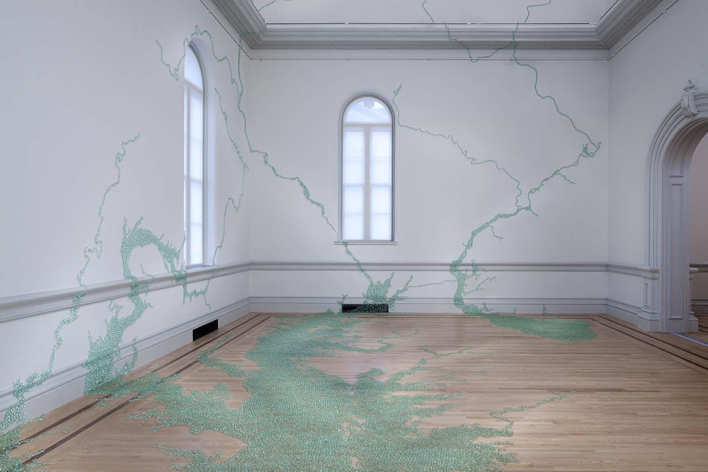Title: Folding the Chesapeake, 2015 | Artist: Maya Lin | Source: Smithsonian American Art Museum, gift of Debbie Frank Petersen | ©2015, Maya Lin