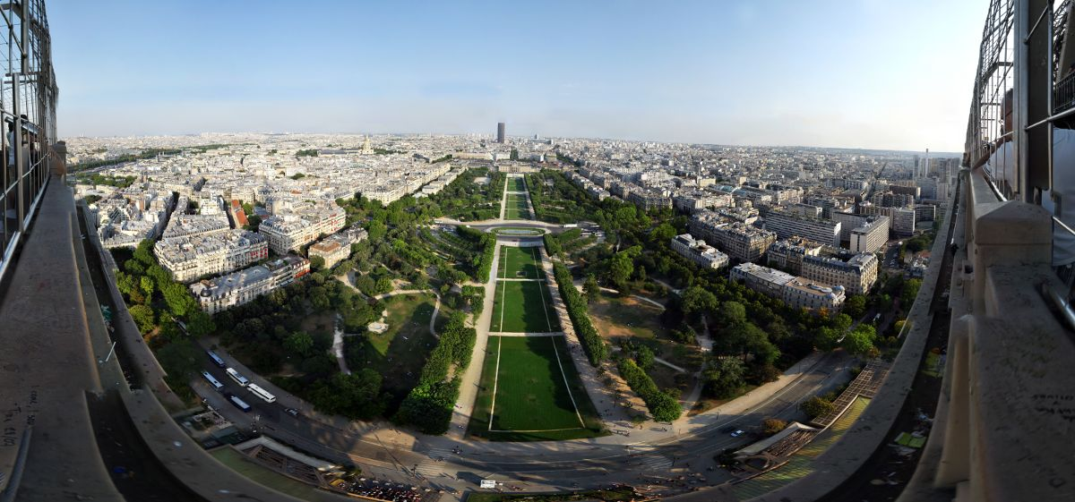 View from eiffel tower 2nd level | Author: Wjh31