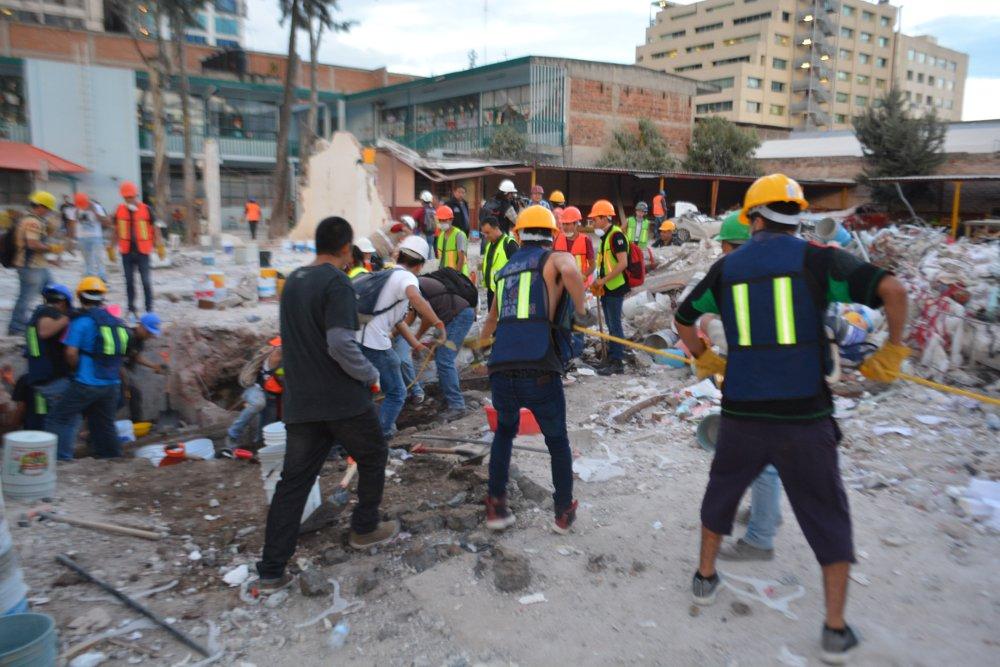 Title: Chimalpopoca y Bolívar - Terremoto de Puebla de 2017 - Ciudad de México - 11 | Author: Protoplasmakid | Source: Own work | License: CC BY-SA 4.0