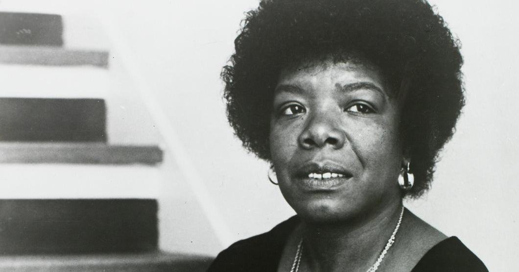 Title: Maya Angelou | Photographer: Susan Mullaly Well | Source: Burns LIbrary | License: CC BY-NC-ND 2.0