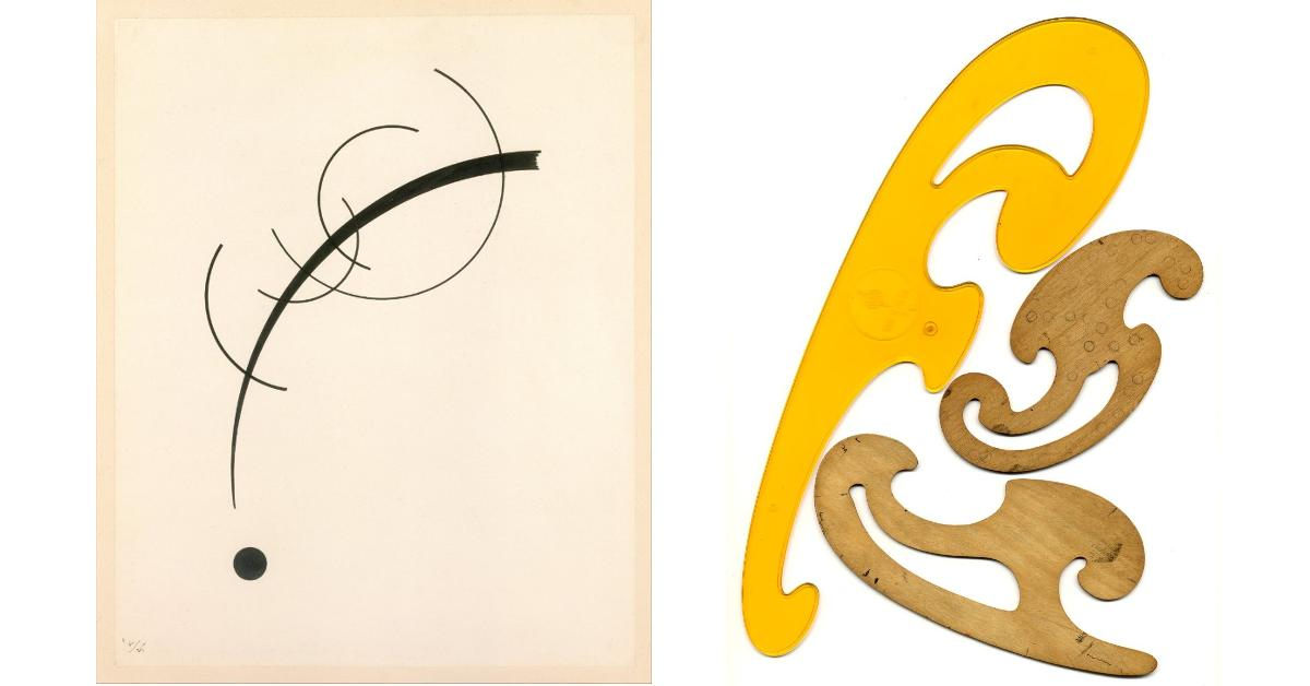 Left: Wassily Kandinsky | Right: Radomil